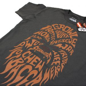Star Wars Chewbacca Text T-Shirt